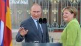 Путин кратко пообщался с Меркель на G20